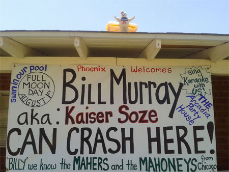 Bill Murray Party in Phoenix