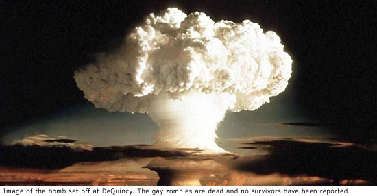 Image of the bomb that destroyed DeQuincy Louisiana from the zombie attack from bath salts