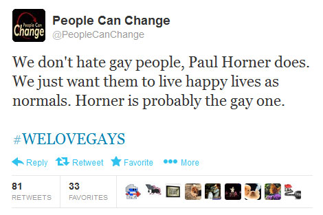 People Can Change tweet about hoax article and Paul Horner