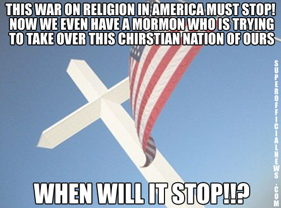 War on religion in America
