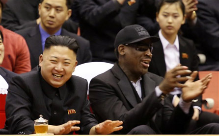 Dennis Rodman eaten by dogs in North Korea