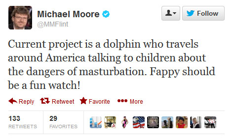 Michael Moore tweet