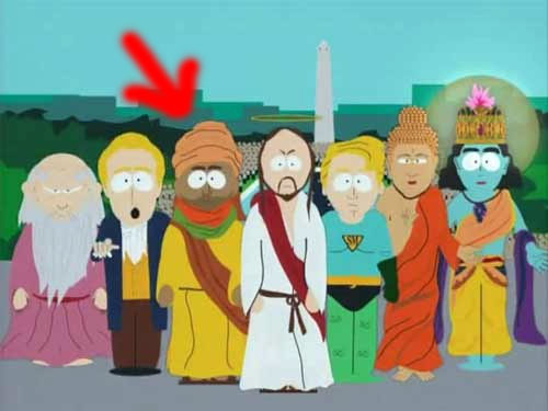 Muhammad from South Park