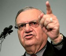 Joe Arpaio explaining the new inmate Pharmacy work program that begins September 1st.