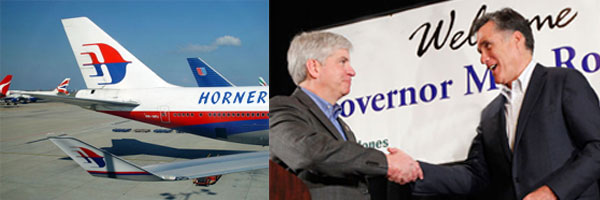 Horner Airlines and Mitt Romney team up for Work to Fly program