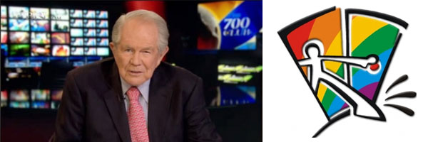 Pat Robertson is gay.