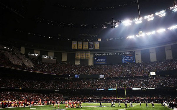 The reason for the Super Bowl blackout - Was a prank by a now ex-employee working for SMG & the NFL