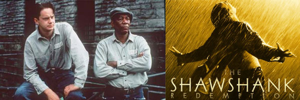 Escape from prison using scenes from The Shawshank Redemption