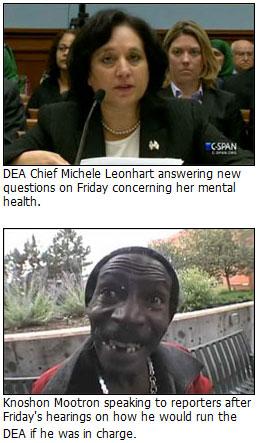 DEA Cheif Michele Leonhart