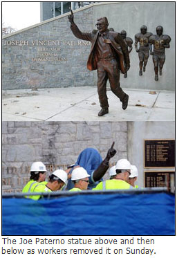 Joe Paterno statue sold in private auction to Kim Jong-un