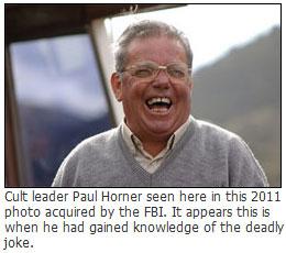 paul horner jonestown joke suicide