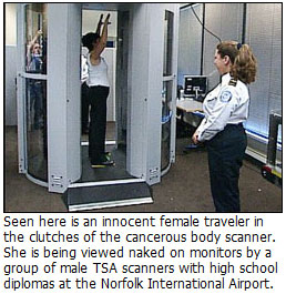 TSA Now Offering Free Gift With Full Body Cavity Searches