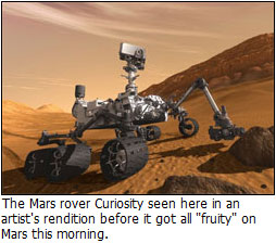 The Mars rover is gay - comes out of the closet