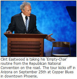 Clint Eastwood Empty Chair Comedy Tour