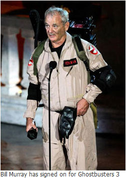 Bill Murray signed on for Ghostbusters 3