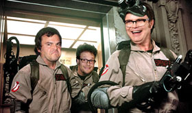 Bill Murray, Seth Rogen, Jack Black, and Rainn Wilson sign on for Ghostbusters 3