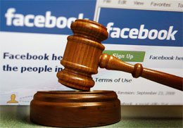 Facebook cover photo lawsuit in Arizona