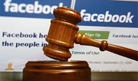 Facebook cover image photo lawsuit for $1.2 million
