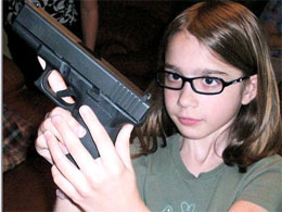 School arming it's kids with guns