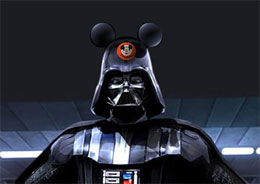 Darth Vader and Disney have teamed up