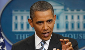 President Obama guns or drones program