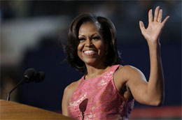 Michelle Obama will play the wife of Lando Calrissian in the upcoming Star Wars: Episode VII
