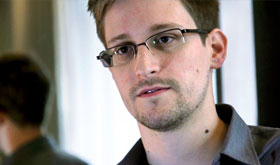 The Al Jazeera news agency is reporting that NSA whistleblower Edward Snowden has safely landed in Caracas, Venezuela. Venezuelan President Nicolas Maduro had offered asylum to the former U.S. intelligence contractor on Friday who was believed to be waiting in transit at a Moscow airport.
