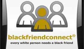 black friend connect logo