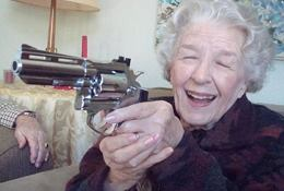 Granny kills knockout game thug