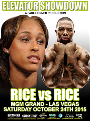 Ray Rice cage match in Las Vegas