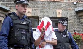 Banksy arrested in London