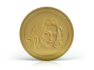 Caitlyn gold coin by the US Mint